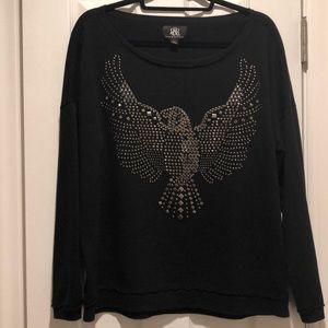 Studded eagle Rock & Republic sweatshirt